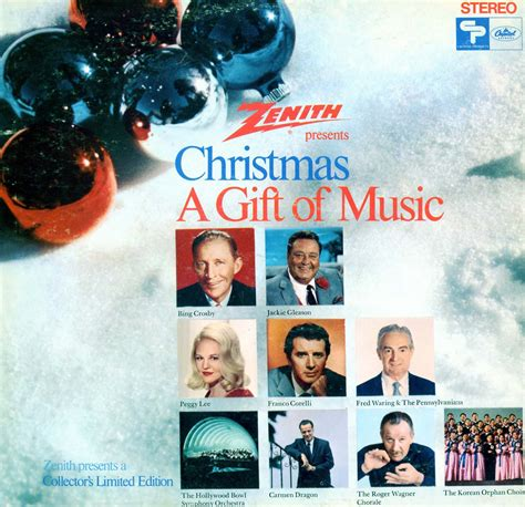 zenith christmas a gift of music volume 1 sl6544