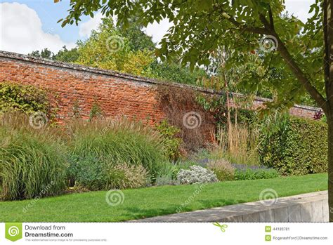 Walled Garden Nursery Walled Garden Stock Photo Image 44183781