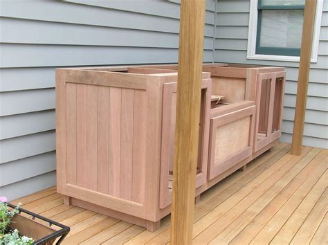 Bbq Cabinets by Wooden Outdoor Cabinet Search Mateo S Bbq