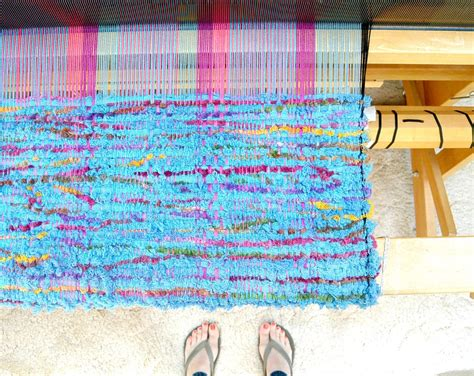 weave it rug loom loom woven wall hanging in a stitch