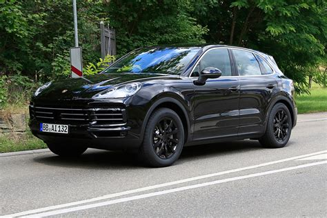 porch cayene all new 2018 porsche cayenne spied evo