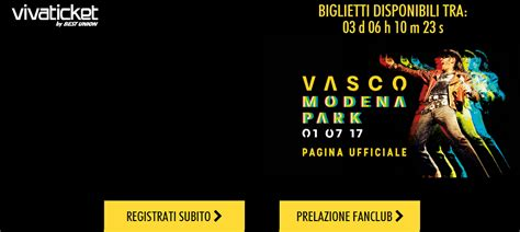 fans club vasco istruzioni prevendita fan club vasco sito