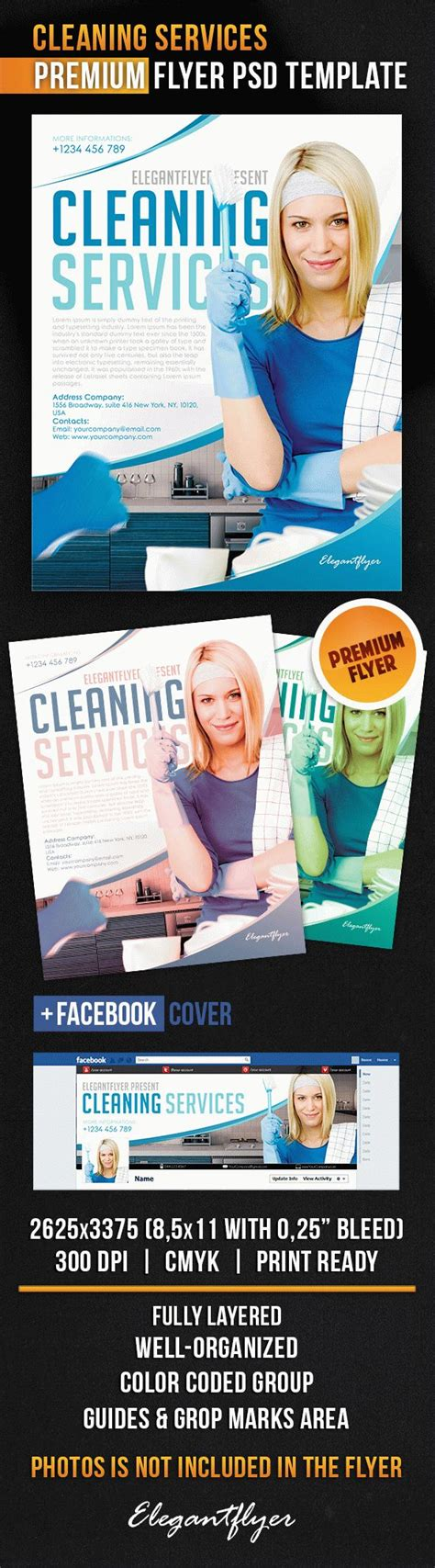 Cleaning Services Flyer Psd Template By Elegantflyer Cleaning Service Flyer Template