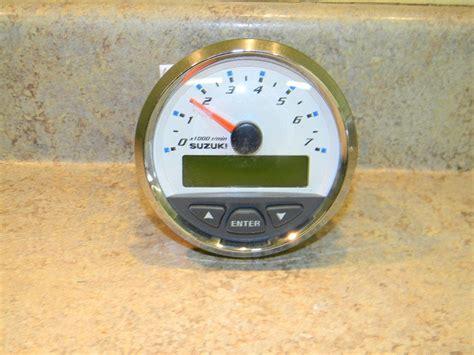 Suzuki Marine Gauges Suzuki Outboard Digital Tachometer Unknown Year Ebay