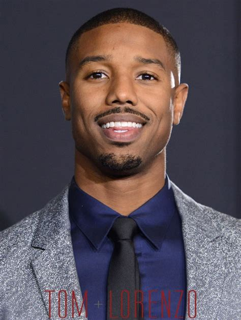 michael b jordan at the quot creed quot los angeles premiere