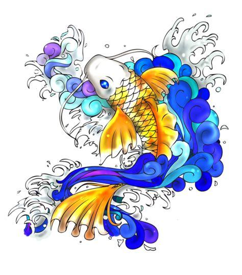 fish tattoo png koi fish by moonlit memories on deviantart