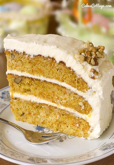 Carrot Cake Cheese carrot cake with cheese frosting cakescottage