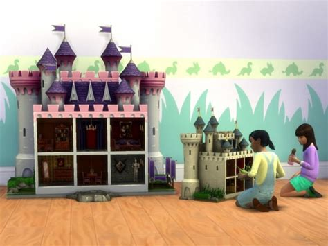 sims 4 dollhouse small modern castle dollhouses by plasticbox at mod the