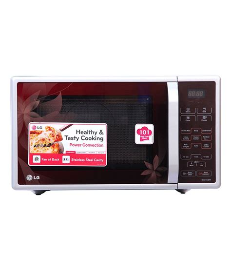 Microwave Convection Lg lg ms 2021cw 20 litre 1050 watt microwave oven white