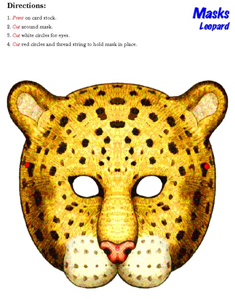 cheetah mask template masks clipart cheetah pencil and in color masks clipart