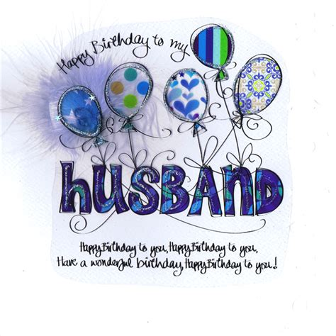 card relation happy birthday to my husband