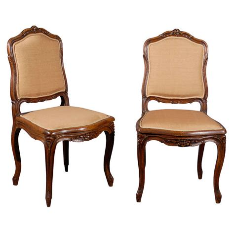 set of 8 louis xv style oak dining chairs at 1stdibs