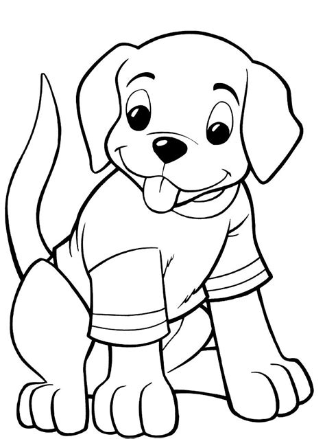 puppy coloring pages best coloring pages for kids