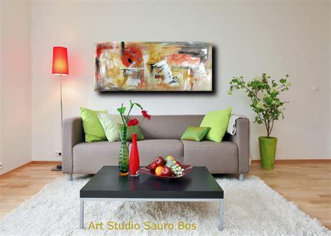 quadri soggiorno quadri astratti informali per soggiorno 150x65 sauro bos