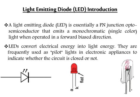 how does a diode work in a car light emitting diode oled