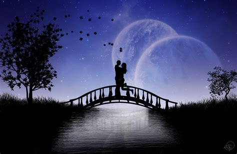couple hd live wallpaper desktop beautiful moon image wallpaper