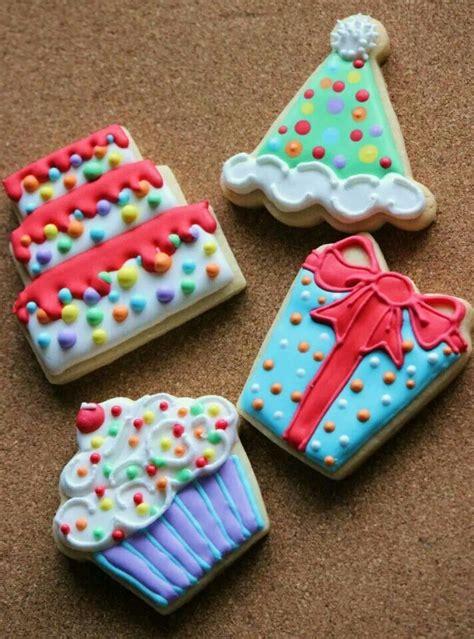 cookies birthday images  pinterest