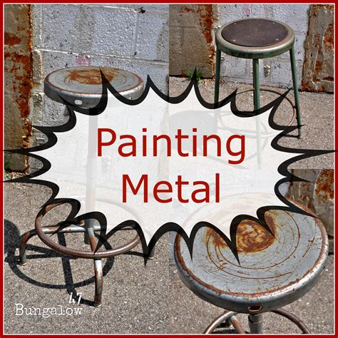 chalkboard paint for metal painting furniture or should i say painting metal