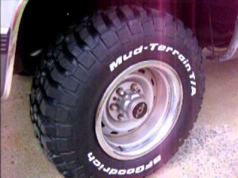 Trailblazer Mt Tires Blazer With Bf Goodrich Km2 Mud Terrian Tires