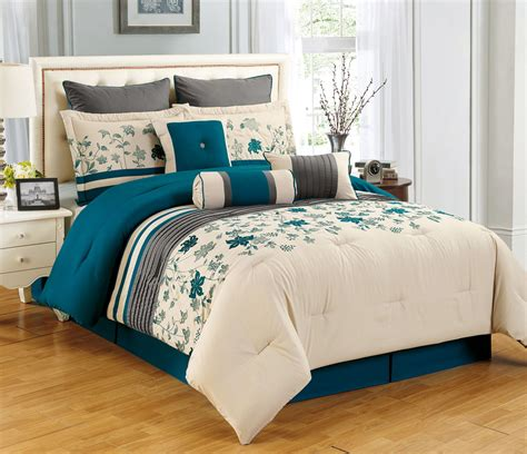 comforter sets teal grey and teal bedding sets gretchengerzina com
