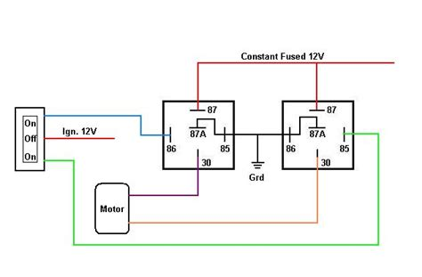 window motor wiring diagram power window relay diagram