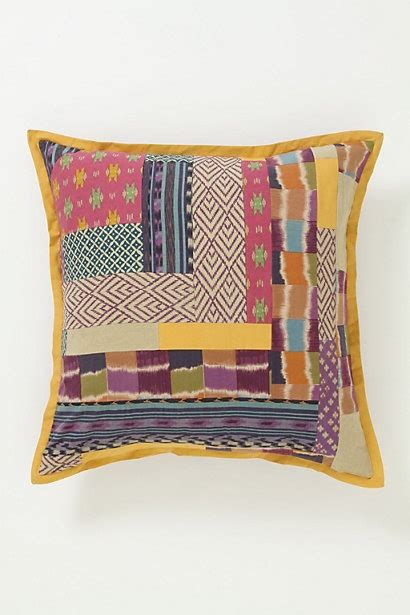 Anthropology Pillows by Abstract Ikat Pillow Anthropologie Sewing Projects