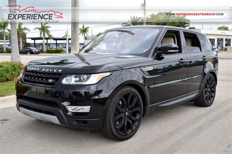 used 2016 land rover range rover sport hse hse for sale