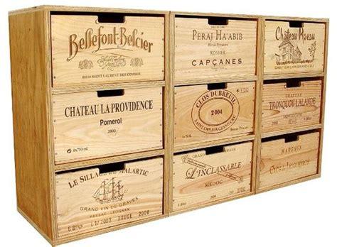 regali mobili usati riciclare le casse di vino e arredare casa 20 idee