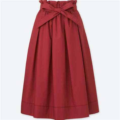 Skirt Highwaist high waisted maroon skirt fashion skirts