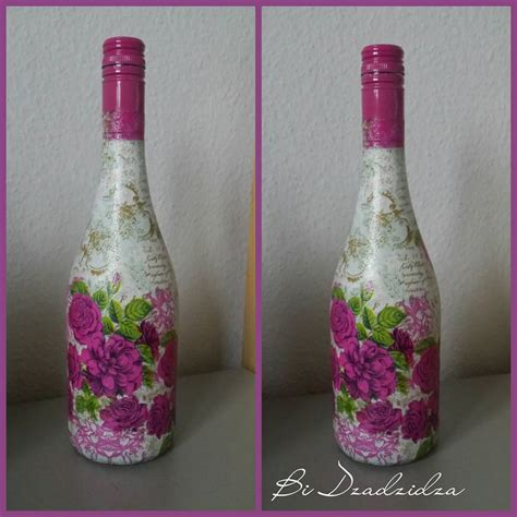 handmade decorated beautiful bottles for sale lotus