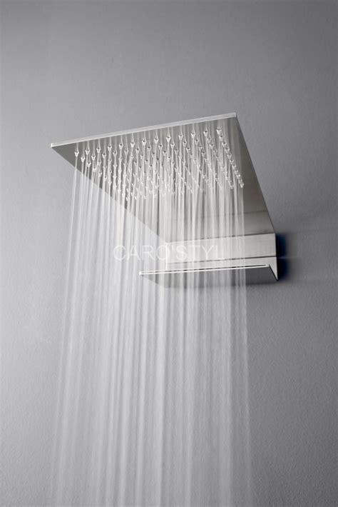 robinetterie italienne ciel de pluie actuel en inox plat pour 224 l italienne carrelage et salle de bain la