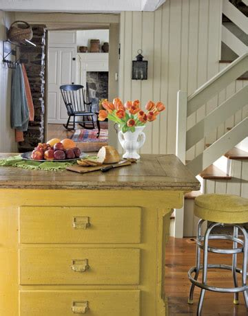 americas country kitchen painted kitchen islands emily a clark