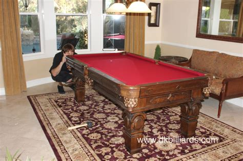 rug pool table pool table on area rug dk billiards service orange county ca