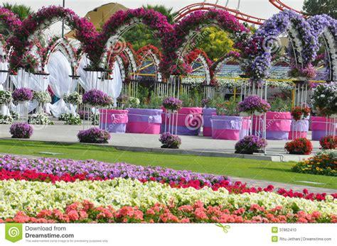 Garden Decoration Dubai by Dubai Miracle Garden In The Uae Editorial Image Image