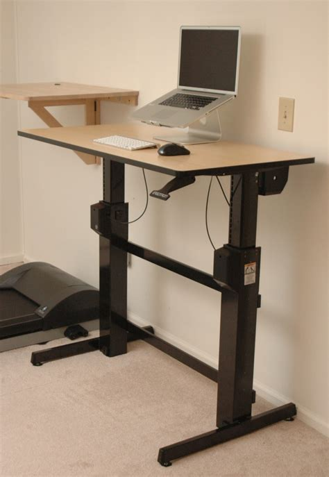 sit standing desk ergotron workfit d sit stand desk review deskhacks