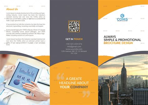 business brochure templates psd free 50 free business brochure templates psd to