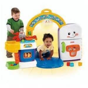 fisher price laugh and learn 2 in 1 learning kitchen