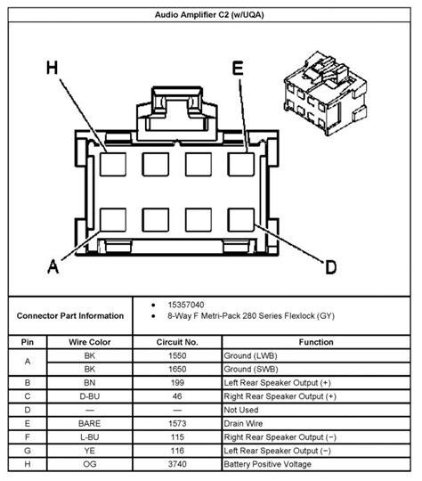 chevrolet trailblazer stereo wiring diagram get free