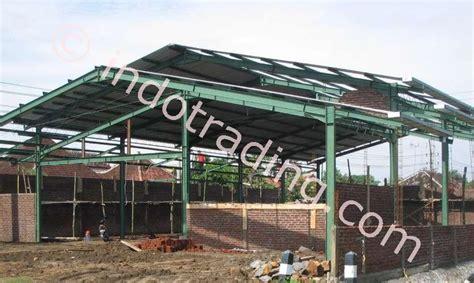 Jual Rockwool Banjarmasin jual konstruksi rangka baja besi wf harga murah