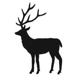 stag silhouette a study in silhouettes pinterest