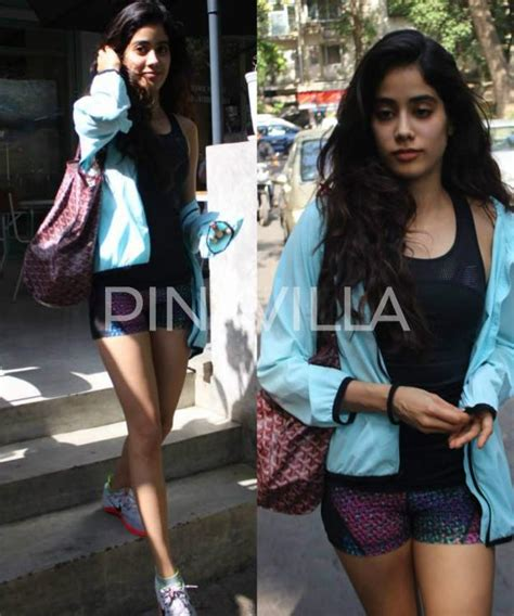 Home Decor In Mumbai In Pics Sridevi S Daughter Jhanvi Kapoor Snapped Post A