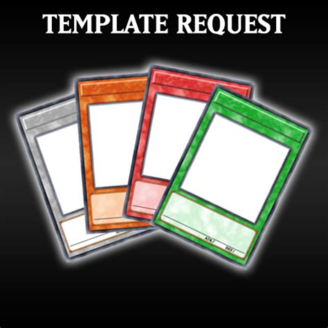How To Make A Custom Yugioh Card Template by Card Templates By Grezar On Deviantart
