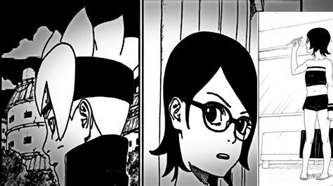 boruto x sarada doujinshi boruto chapter 13 manga review boruto x sarada in the