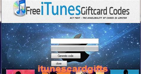 Itunes Gift Card Hack 2016 - free itunes codes generator free itunes gift cards get free html autos weblog