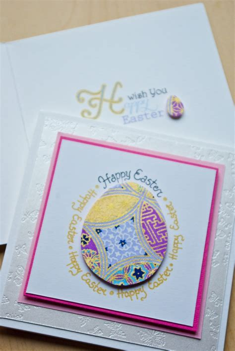Easter Handmade Cards - handmade easter cards invitations ideas