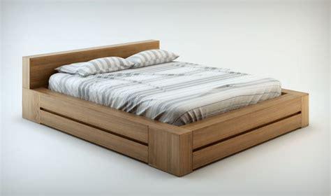 bois de lit 140x190 pack literie haut de gamme lit et commode en bois massif