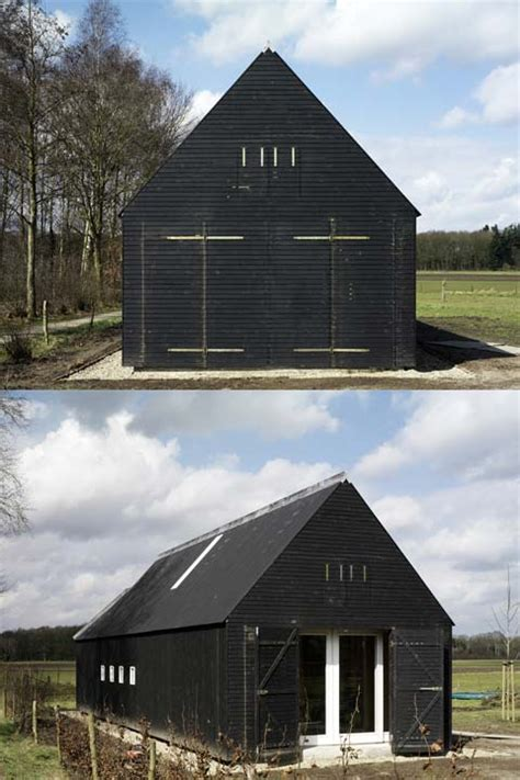 building houses oeken pavilion modern rural architecture small houses