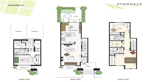 4 bedroom townhomes 4 bedroom townhouse floor plans modern townhouse floor