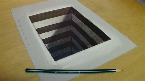 Drawing Paper by Simple 3d Drawings On Paper For How To Draw 3d Steps