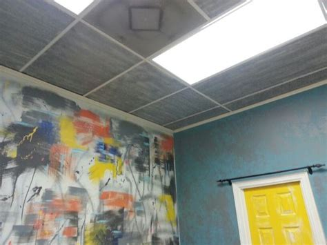 spray painting tiles ceiling tiles spray paint mkover yeah by